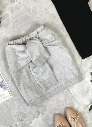 Оригинальная юбка из трикотажа  ki1920011 atmosphere