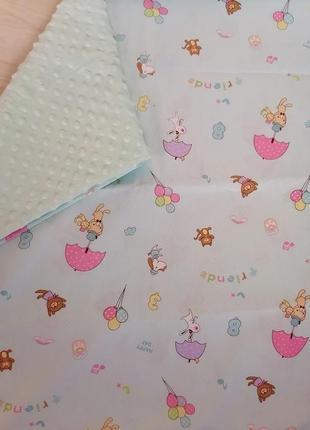 Детский плед одеяло пледик покрывало