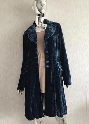 Кардиган пальто велюр жатка sara kelly нет одной пуговицы