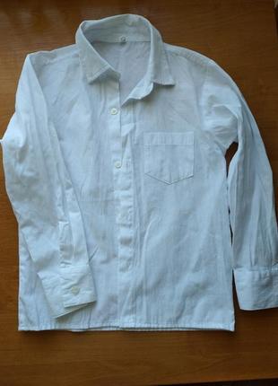 Рубашка на 6-7лет