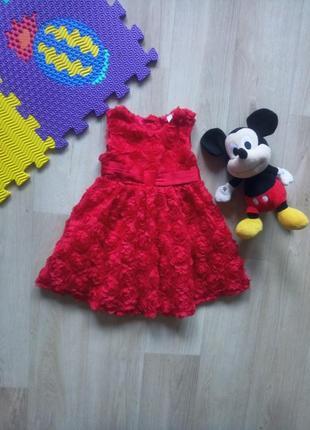 Шикарное платье на малышку
