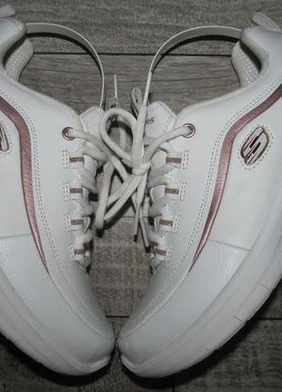 Skechers synergy 2.0 кожаные кроссовки р.36-23см