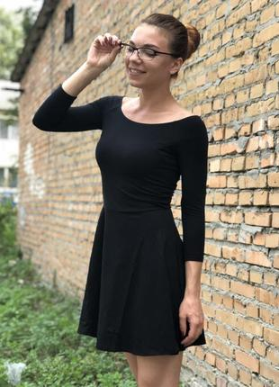 Красивое чёрное платье, европа, оригинал