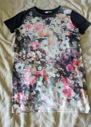 Красивое платье туника miss selfridge