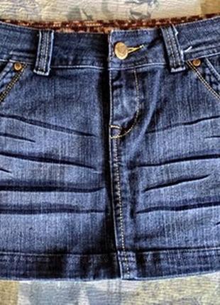 Юбка джинсовая  anig