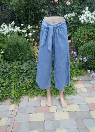 Трендовые джинсовые кюлоты name it