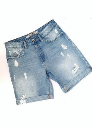 Шорты бриджи джинсовые colins