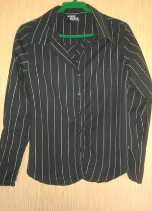 Рубашка с оригинальным рукавом