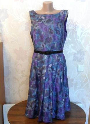 Шелковое платье john lewis