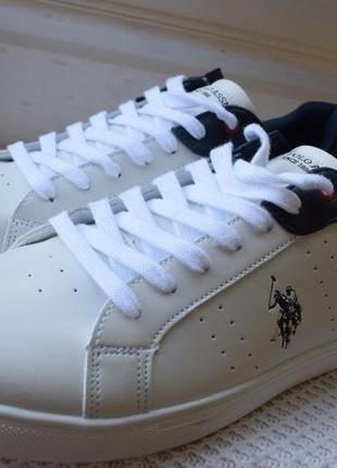 Стильные кеды сникерсы кроссовки туфли мокасины u.s. polo assn р.45 30 см