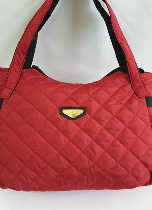 Яркая женская болоньевя сумка, отличное качество!