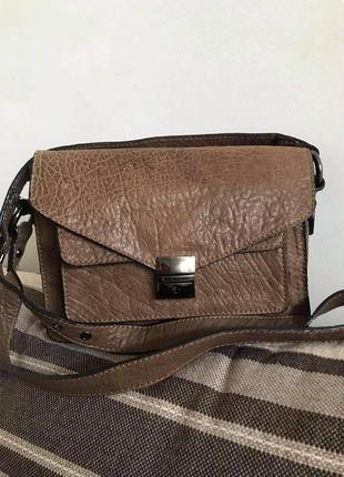 Стильная кожаная сумка asos