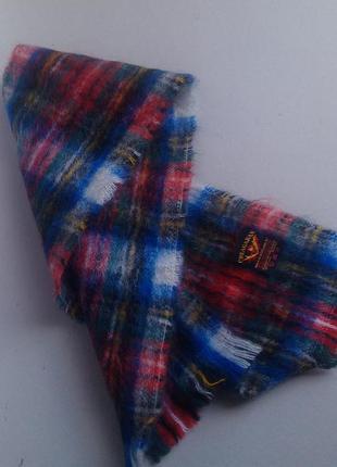 Теплій мохеровій шарф шотландия
