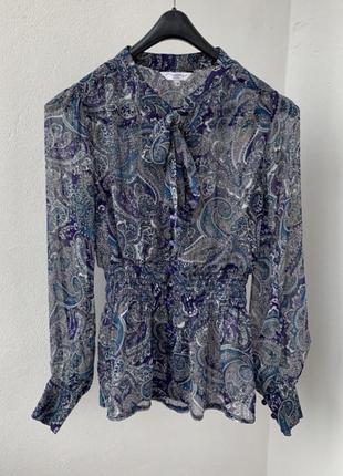 Блуза с бантом new look