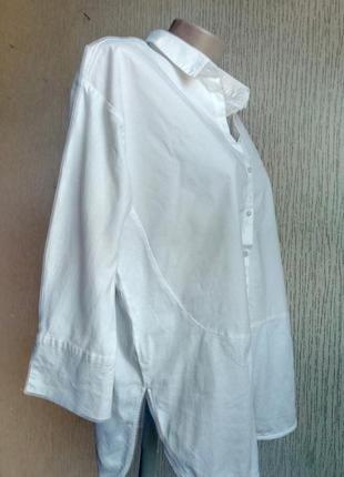 Блуза белая imitz. 44-46