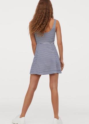 Летнее платье в полоску/морской стиль2 фото