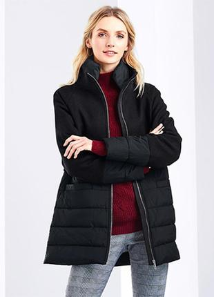 Стильное качественное демисезонное пальто от тсм tchibo (чибо), германия, от 44 до 48