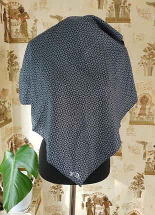 Jacob cohen/итальянский дизайнерский платок косынка их хлопка и шелка 53*55