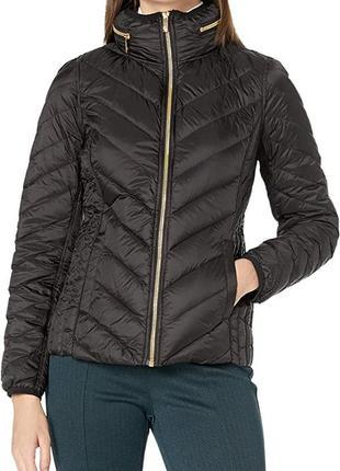 Универсальная куртка пуховик anne klein размер xs-s пух