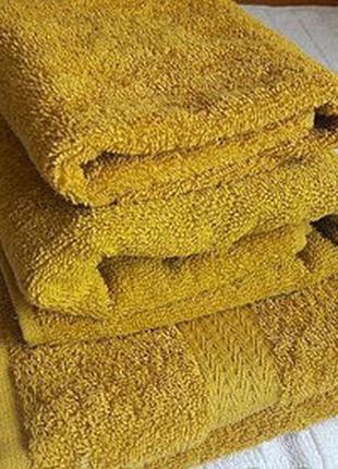 Комплект рушників махровий, полотенца махровые