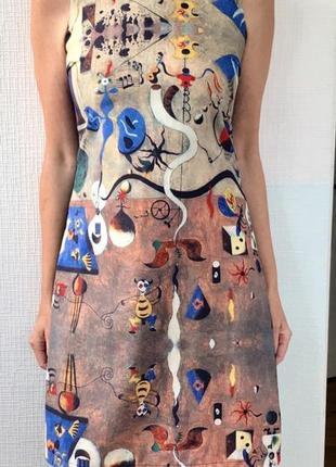 Платье картина франция