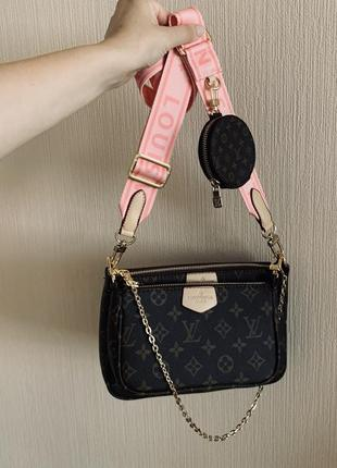 Сумка 3в1 louis vuitton