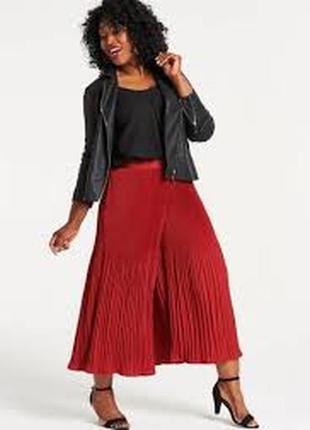 Кюлоты-юбка юбка-шорты юбка-штаны плиссированные
