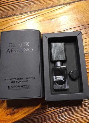 Nasomatto black afgano, оригинал, 30 мл,духи (тестер с крышечкой)