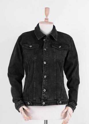 Стильная женская джинсовая куртка джинсовка