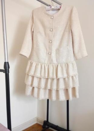 Элегантное платье cardo в стиле шанель chanel