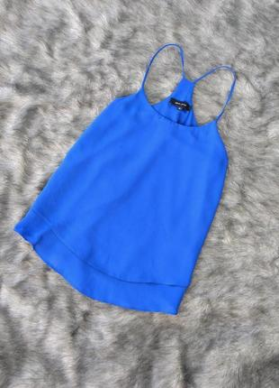 Двойная блуза кофточка топ на бретелях new look