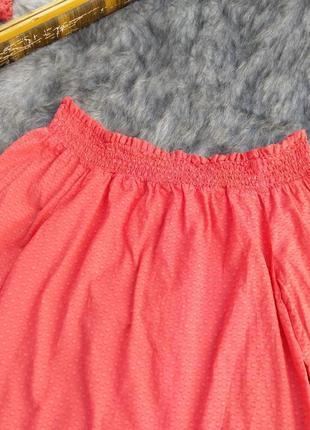 Хлопковая блуза на плечи primark2 фото