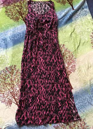 Платье длинное м-л
