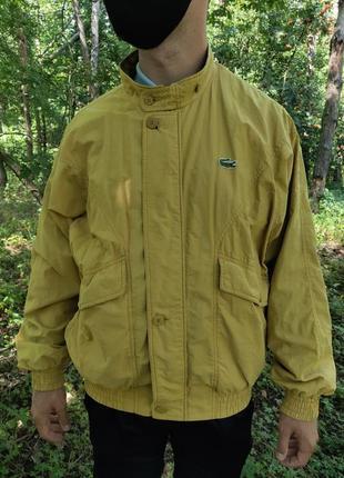 Куртка бомбер жакет ветровка лакост винтаж lacoste
