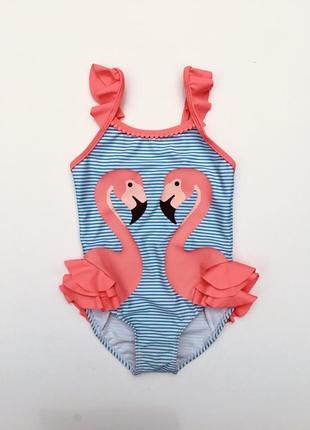 Фирменный сдельный 3d купальник 🩱 фламинго 🦩 primark