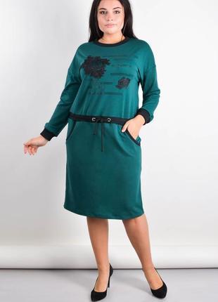 Распродажа платье плюс сайз на каждый день, жіноче плаття плюс сайз, платье батал
