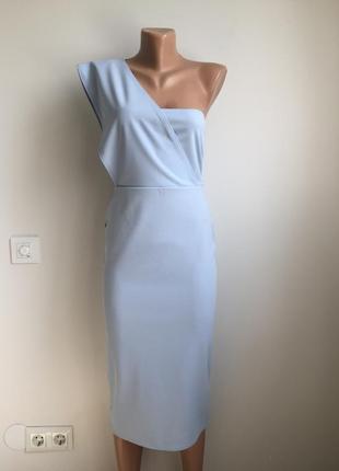 Платье нежное миди4 фото