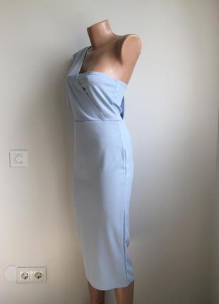 Платье нежное миди2 фото