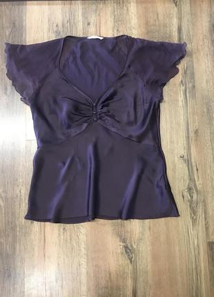 Роскошная шёлковая блуза