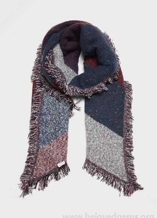 Актуальный трендовый мягкий меланжевый шарф asos