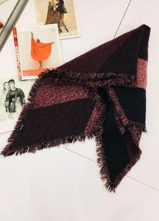 Потрясающий трендовый меланжевый теплый шарф tally weijl