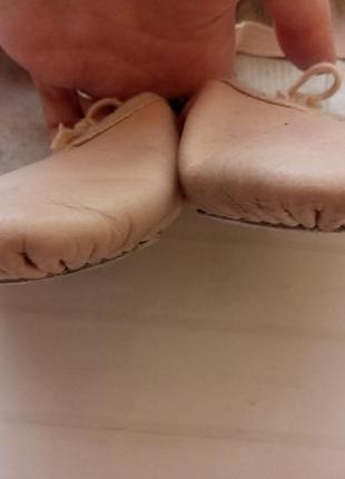 Балетки чешки для танцев гимнастики кожа roch valley р.322 фото