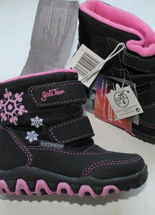Супер ботинки термики lupilu размер 20;21;23