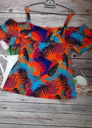 Яркая стильная блузка