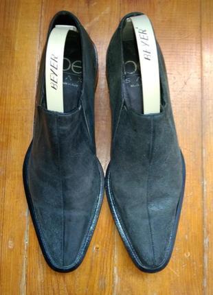 Туфли классические мужские нубук