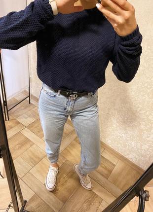 Темно-синий свитер от vrs