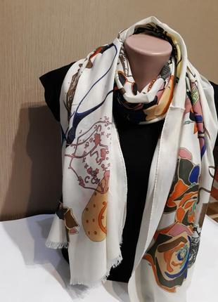 💝красивейшие турецкие шарфы шали вискоза принт