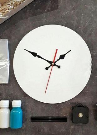 Набор для создания часов в стиле fluid art!