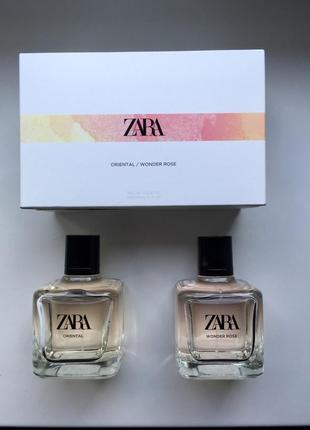 Zara в наборі 2штуки oriental/wonder rose