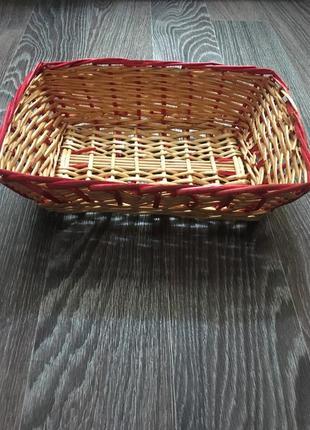 Корзина для кухни. корзина плетёная для дома.
